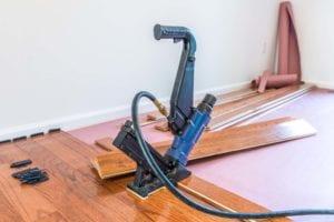 Service Hardwood Floor Installation