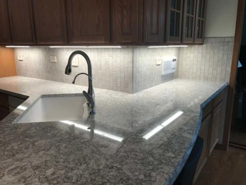 Ambrose Tile And Carpet Countertop Backsplash