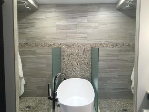 Slides Bathroom Backsplash