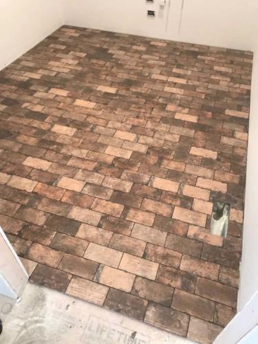 Slides Brick Floor