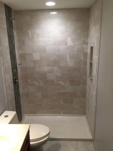Slides Shower Tiles Pattern